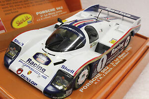 SLOT-IT-SICW04-ROTHMAN-PORSCHE-962-NEW-1-32-SLOT-CAR-IN-LIMITED-EDITION-BOX