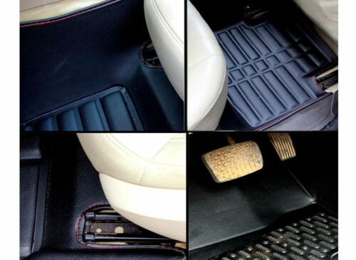 Floor Mat FloorLiner Fit For Nissan Rogue 2007-2013 Front+Rear All-Weather Black