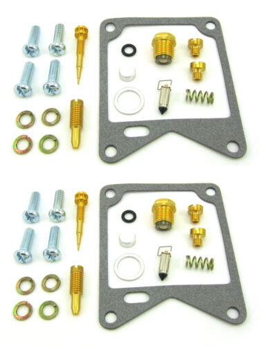 2X  XV750 H//J//K Virago 1981-1983 Carburetor Repair Kit for 18-2577