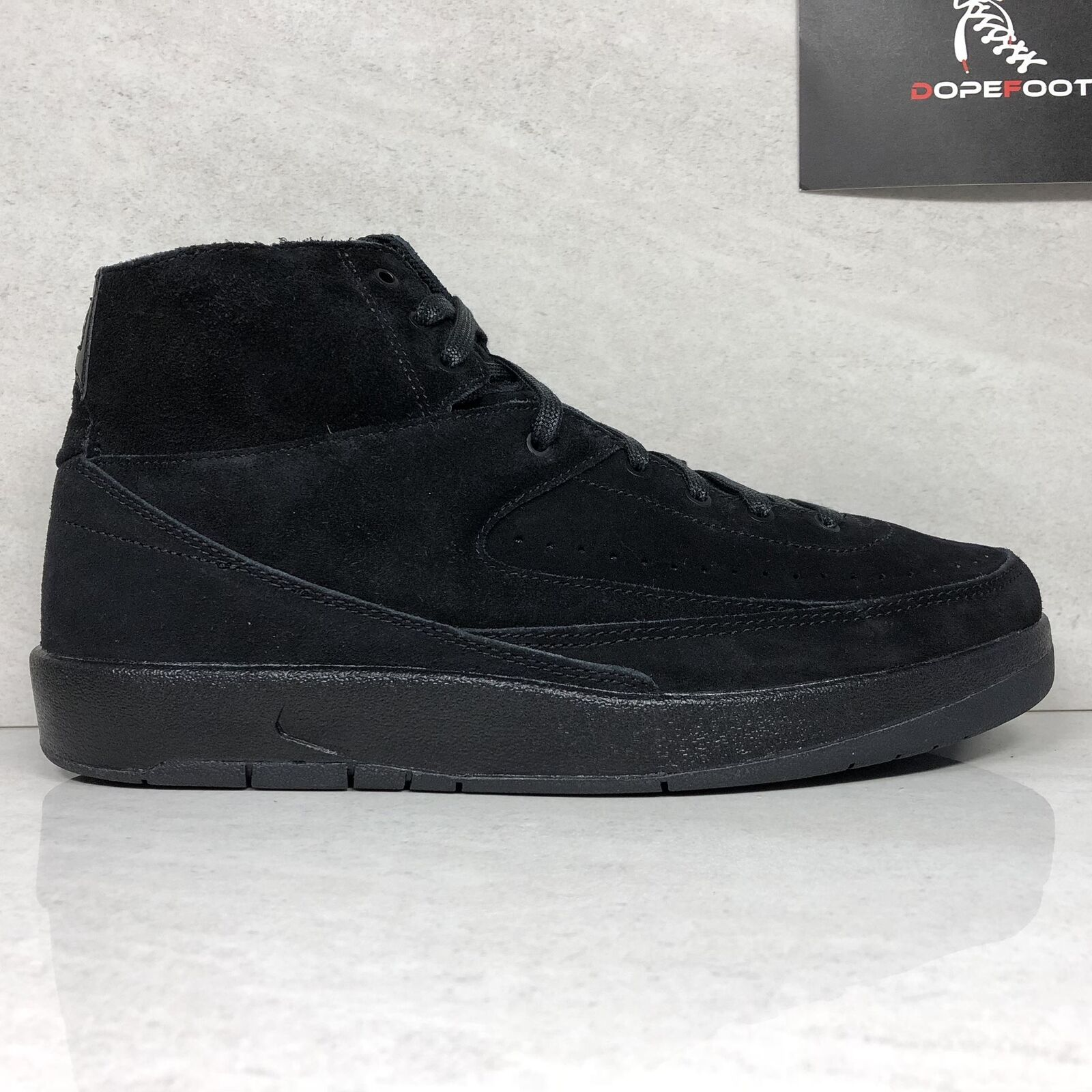 DS Nike Air Jordan 2 Decon Size 9/Size 10 Black 897521 010