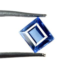 New Product 2.65 Ct Blue Sapphire Gemstone Emerald Cut Natural Certified A49836