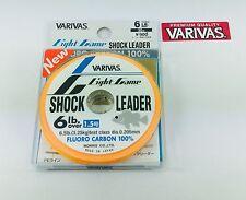 NEW VARIVAS LIGHT GAME FLUOROCARBON SHOCK LEADER 6lb/0.205mm/30m