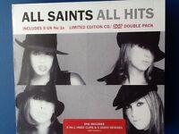 ALL. SAINTS.      CD. /. DVD.      ALL.  HITS.