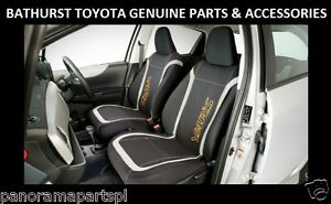 Toyota-Yaris-Hatch-Front-Seat-Covers-Neoprene-5-Door-YR-YRS-YRX-GENUINE-NEW