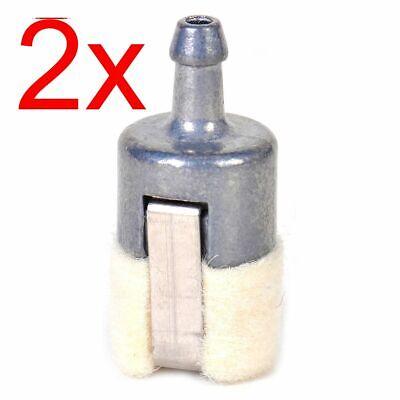 2 Stück Motorsensen Kettensägen Intank Filter Tankfilter Tankpendel Benzinfilter