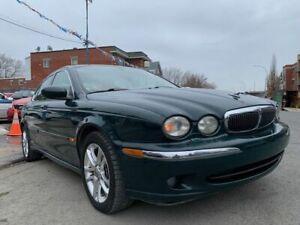 2003 Jaguar X-Type AWD, 4X4, INTÉRIEUR CUIR CRÊME ET BOISERIES, 3.0 LT, CASH DEAL SEULEMENT !