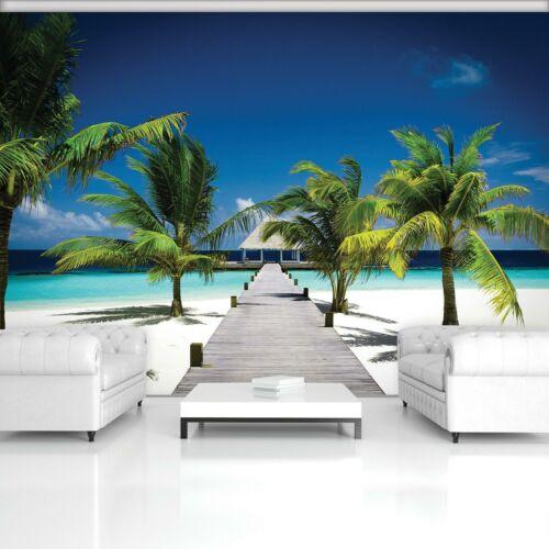 Vlies   Fototapete Tapete Poster 15F0012060 Ozeanisches Hause und Strand
