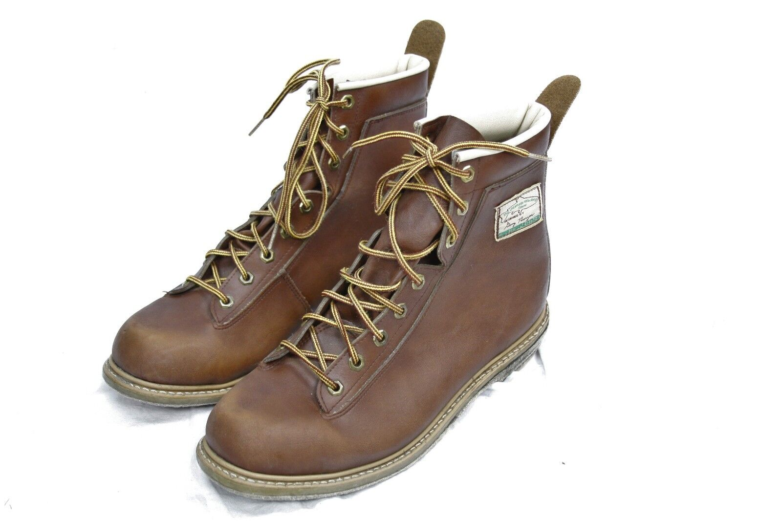 Designed by Dany Berger Weinbrenner Men's Non Slip Work Boots US 8.5  USA made