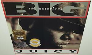 THE-NOTORIOUS-BIG-JUICY-2018-RSD-BRAND-NEW-SEALED-LIMITED-CLEAR-BLACK-VINYL-LP