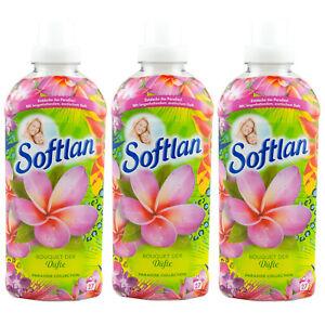 Softlan Vanille sur le Bouquet parfums Paradise Collection 3x650ml 81 lavages