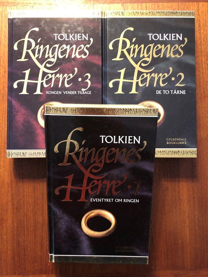 Ringenes herre 1-3 - udgaven med guldring på cover,