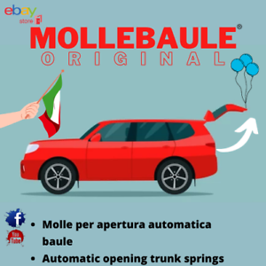 MOLLEBAULE KIT MOLLE APERTURA AUTOMATICA BAULE PEUGEOT 508 SW 2010-2018