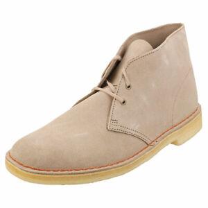 Détails sur Clarks Originals Desert Boot Homme En Daim Sable Desert Boots afficher le titre d'origine