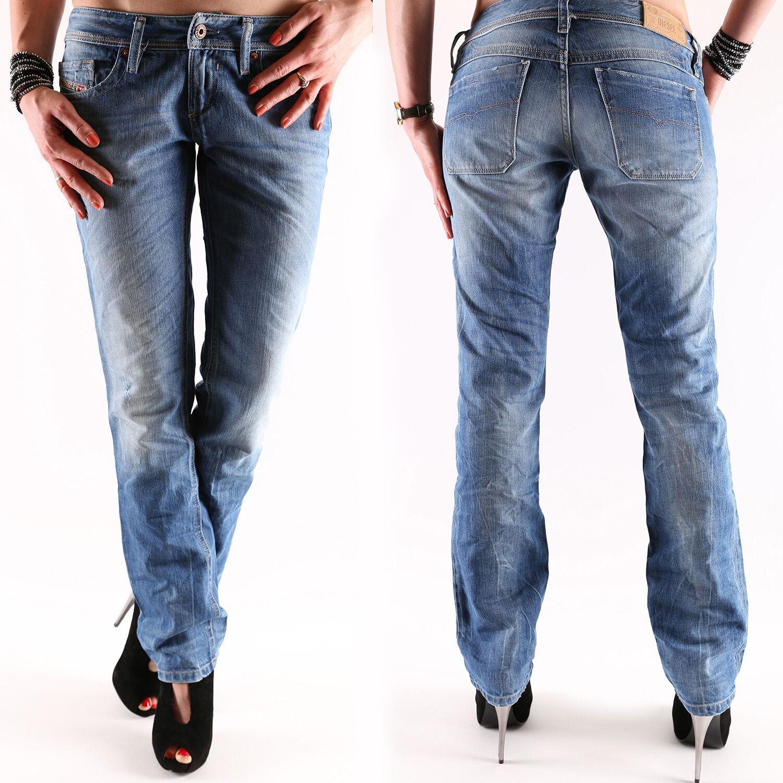 Diesel Lowky Women's Jeans Trousers Wash 0816p New