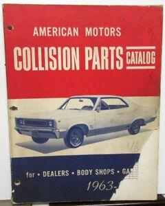 1963 1964 1965 1966 1967 AMC Rambler Marlin Rebel ...