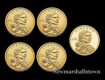 2014 2015 P+D+S Native American Sacagawea Mint Proof Set ~ PD Original Mint Wrap