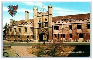 Postcard Cambridge Christ's College