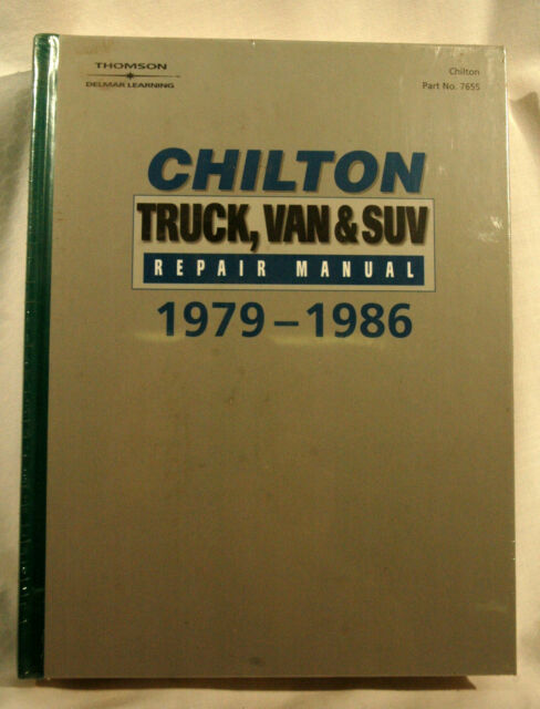 chilton repair manuals for sale