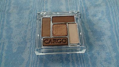 """""""Cargo"""" Nude/Brown Eye Shadow Palette w/ 5 Shades~Copper/Brown/Ivory~NWOB"""