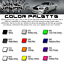 4x Traverse Door Handle Decal Sticker Chevrolet Chevy L LS LT RS Premier