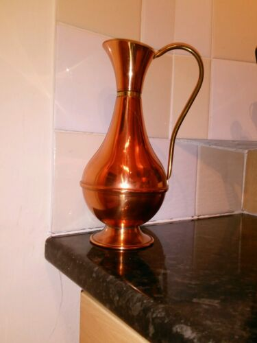 large copper urn