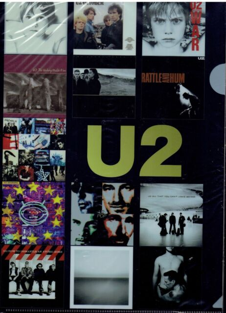 first press incl A4 clear file U2 War SEALED JAPAN SHM CD cardboard UICI-9057