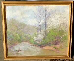 Alberta-Shulz-b1895-Indiana-artist-oil-canvas-25-x-30