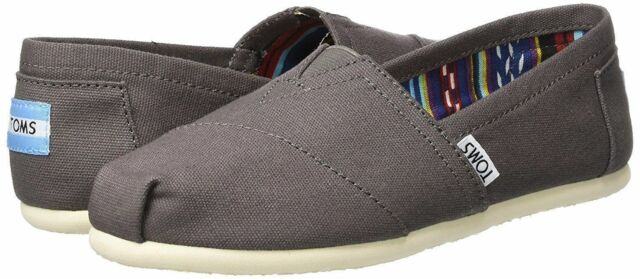 b42c3f18 Women's Toms Size 7 Slip on Classic Ash Canvas Flats Oxford for sale ...