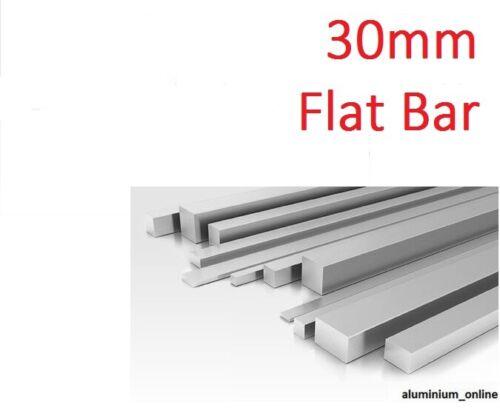 ALUMINIUM FLAT BAR STRIP 30mm length 100mm 2500mm