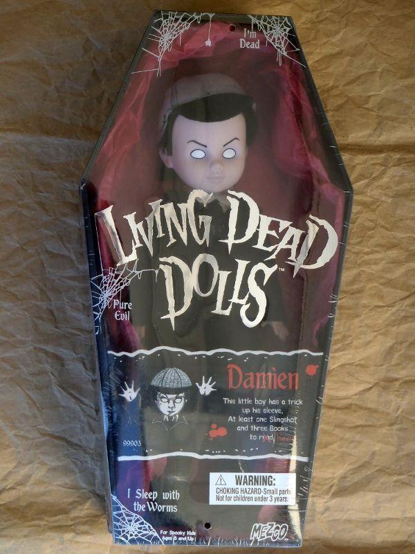 Living Dead Dolls Serie 1 Damien sellado original de Fábrica Versión de Japón Rareza