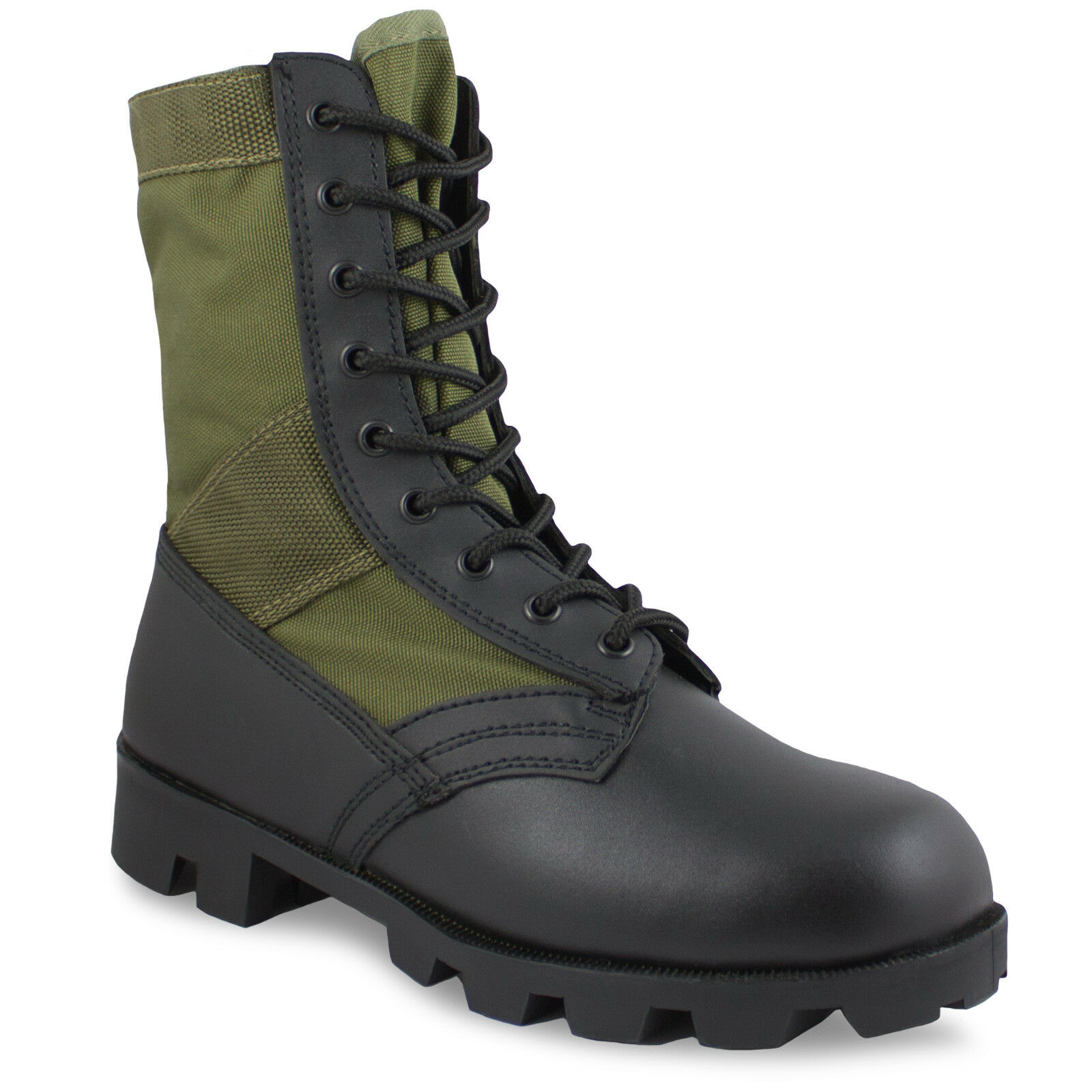 US Army Panama Leggero Stivali Jungle Vietnam Militare ASSALTO Combat Stivali Leggero Verde 92d4fb