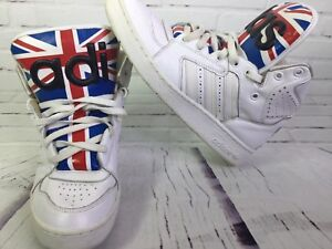 online retailer 1ad77 90db5 Image is loading Adidas-Originals-Size-10-Instinct-Hi-Jeremy-Scott-