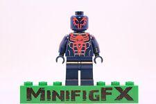 Lego SPIDER-MAN 2099 Custom Printed Minifig Marvel Superhero Miguel O'Hara