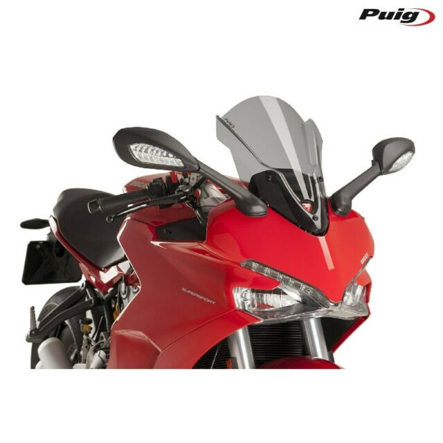 Puig 9434H Fairing Touring Smoke Clear Ducati 937 Supersport 937 2017-2018