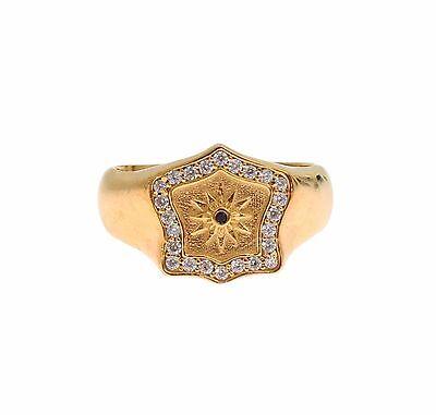 Nuevo Con Etiquetas $220 Nialaya oro 18K de Hombre Auténtico Anillo de plata esterlina 925 S US12//EU66