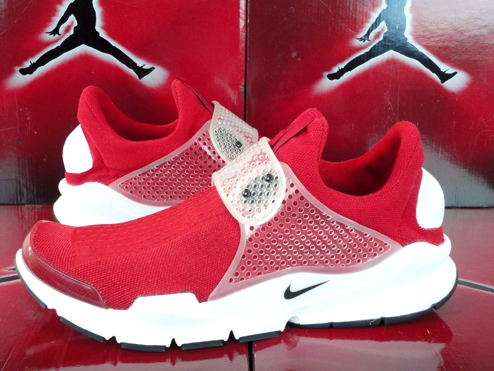 Nike sock rosso dardo sz 12 palestra rosso sock - nero bianco 819686 601 nuova aria scarpe da corsa 50d9d7