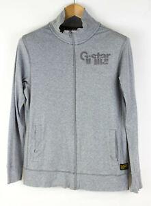 G-Star Brut Hommes Grant Tweater Cardigan Zippé Pull Taille L ADZ545
