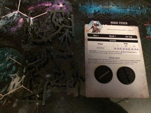 2x Rogue Psykers WHMS Warhammer 40k Quest Kill Team Blackstone Fortress Chaos