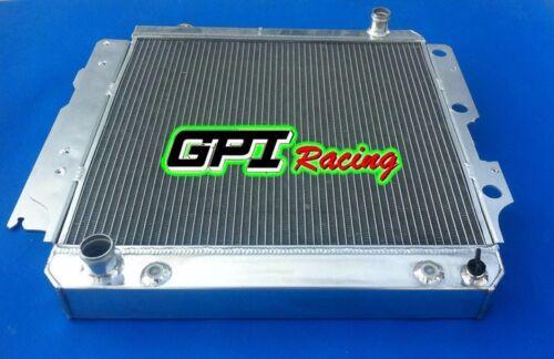 Aluminum radiator  Jeep Wrangler YJ TJ LJ 2.4 2.5 L4 4.0 4.2 L6 LHD 1987-2006 88