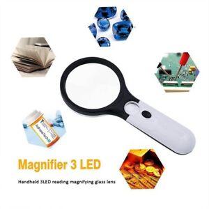 45X3-LED-de-Luz-blanca-lectura-Loupe-Joyeros-Lupa-luminosa-Handheld-Magnifier-ES