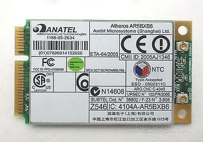 ANATEL ATHEROS AR5BXB6 TREIBER WINDOWS 8