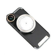 Ztylus iPhone 7 Silver Camera Kit: Case & Revolver 4-in-1 Lens for Apple iPhone