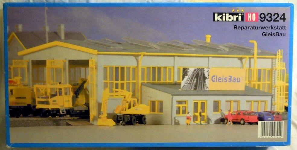 Kibri 9324  taller de reparaciones gleisbau, kit Spur h0, nuevo con embalaje original-sin abrir