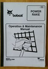 Bobcat Power RASTRELLO Manuale Operatori