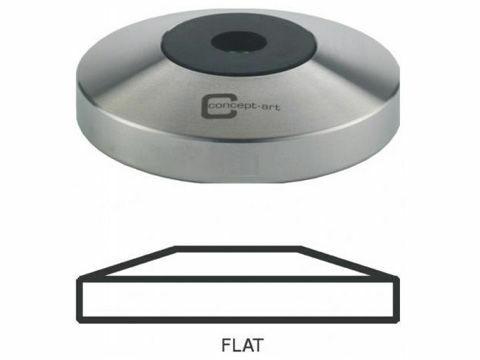 JoeFrex Tamper-Basis Flat 58.5 mm Edelstahl