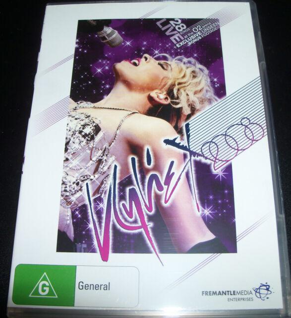 Kylie X 2008 Live At The 02 Arena (Australia Region 4) DVD - Like New