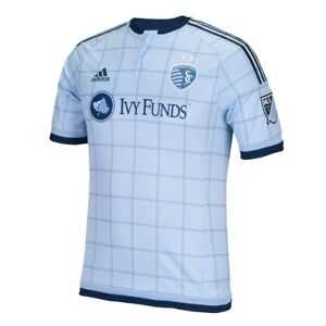 1b3829ccb1353 Sporting Kansas City Adidas MLS Men s Authentic On-Field Climalite S ...