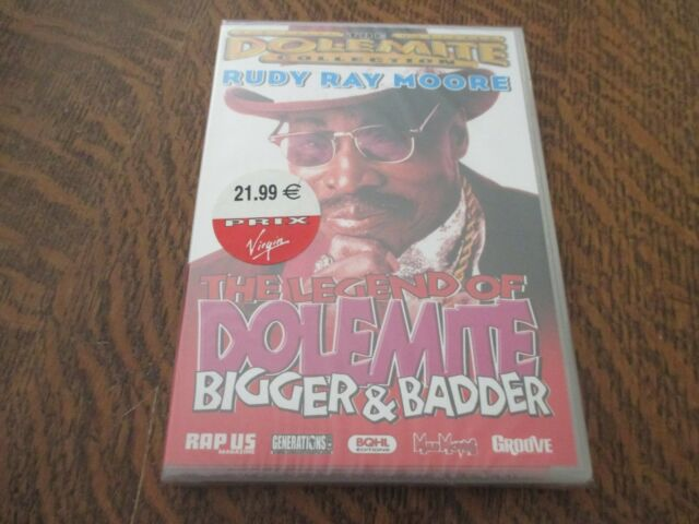 dvd the legend of dolemite bigger & badder RUDY RAY MOORE