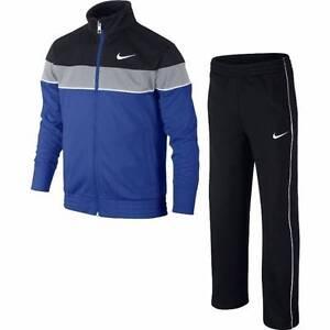 3140 - 3143 Nike Jl 12-13 Anni Tuta Bambino Jr Tracksuit Adj Warm Up 619096 480