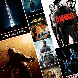 Details About Imdb Top 1 50 Best Movie Posters A4 A3 Hd Gloss Prints Art Decor Alien Shawshank